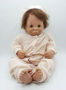 Vintage 1985 Lee Middleton Realistic Baby Doll Open Eye 071785
