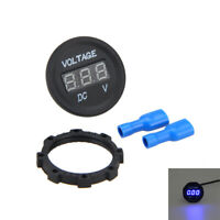 LED Digital Display Voltmeter DC 12V-24V Motorcycle Car Voltage Volt Panel Meter