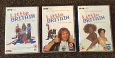 Little Britain The Compete First, Second And Third Series DVD's