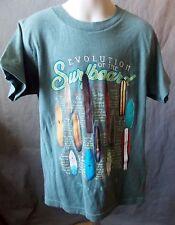 Boys Youth sz S The Duck Co Surfboard T-shirt gray  NWTs evolution alaia h2-bg3