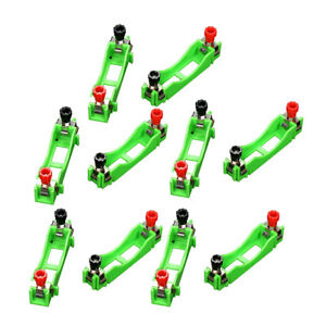 10x AA Battery Holder Single Slot Spring Clip Frame for Toy and Power Supply