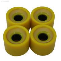 80FA Creative Skateboard Wheels Bearings Elastic PU Wearable Flexible 70x51