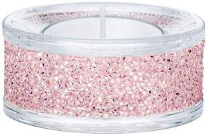 Swarovski Shimmer Tea Light Holder (Pink Crystal AB) 5474276