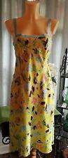 Philosophy Di Alberta Ferretti stunning printed silk designer dress size 12