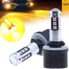 880 899 PG13 1600LM Amber Car High Power 3030 SMD LED Fog Driving Light Bulbs