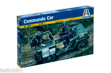 Italeri 0320 1/35 Scale Military Truck Model Kit WWII U.S Army Jeep Commando Car