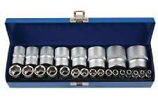 """Laser Tools Socket Set  1/4""""D & 1/2""""D 24 Pieces - 6919L"""