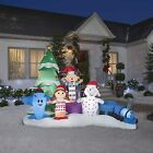 9.5' RUDOLPH'S ISLAND OF MISFIT TOYS Airblown Lighted Yard Inflatable