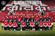 "MANCHESTER UNITED 2017/2018 TEAM POSTER ""LICENSED"" (61X91.5cm) ""BRAND NEW"" EPL"