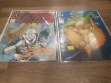 Ultra-Fan 1 & 2 Magazine Of Japanese Fantasy Tv Ultraman Space Giants Godzilla