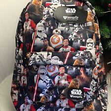 STAR WARS THE FORCE AWAKENS BACKPACK GREAT SCHOOL BAG BRAND NEW