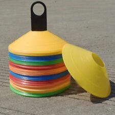 SET OF 10 19cm Cones Marker Discs Soccer Football Training Sports Entertain NT5