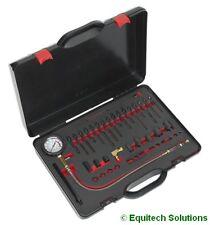 Sealey Tools VSE3158 Diesel Compression Test Kit Glow Plug & Injector Adaptors