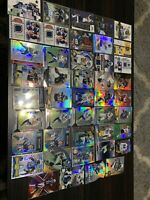 Huge NFL Team San Diego Chargers 44 Card Lot Refractors Autograph Game Used
