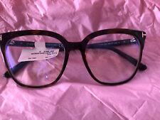 BNWT TOM FORD TF5599-B 052 HAVANA Tri Tan Glasses