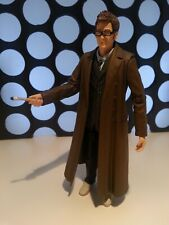 "10th Doctor Who Glasses & Sonic Screwdriver 5"" Figure Tenth from 11 Dr Set"
