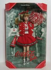 Coca-Cola Barbie 4th in Series 1999 Collector Edition Cheerleader NIB NRFB