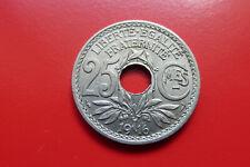 FRANCE - 25 Centimes 1916 Cmes Souligné