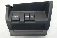 2016 Honda Fit EX HDMI USB Console Trim 77290-T5R-A11ZA OEM