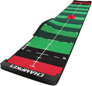 """Champkey 10' x 20"""" SCPS Speed Control Golf Putting Mat - Adjustable for 4 Speeds"""