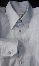EQUILIBRIO LUXURY STRIPED DRESS SHIRT  XL 17-35