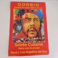 6 Carteles Che Guevera Noche Cubana