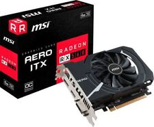 MSI - AMD Radeon RX 560 AERO ITX OC 4G GDDR5 PCI Express 3.0 Graphics Card - ...