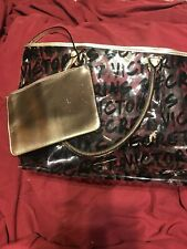 VICTORIAS SECRET Tote Bag Purse Shoulder Bag Sequins & Make Up Bag