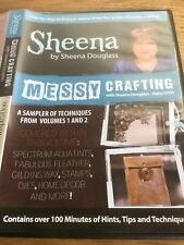 Messy Crafting Dvd & Crafters Inspiration Issue 11 Cd Rom Autumn Papercraft