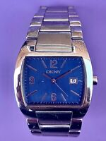 DKNY Urban Faces Steel Blue dial stainless steel Men's Watch NY1109