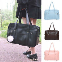Japanese High School JK Uniform Shoulder Bag PU Handbag Lolita Girl School Bag