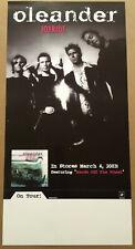 Oleander Rare 2003 Promo Tour Poster w/Release Date 4 Joyride Cd Mint Usa 12x24