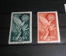 "SPANISH SAHARA 1963 ""PRO BARCELONA"" MNH** SET (CAT.2)"