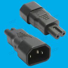 3 Broches IEC Mâle Bouilloire socket c14 à la figure 8 C7 femelle convertisseur adaptateur plug