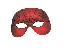 SPIDERMAN DOMINO HALF FACE MASK SUPERHERO FANCY DRESS ACCESSORY WORLD BOOK DAY