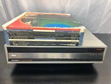 RCA Selectavision SJT-400 Stereo Videodisc w/ 11 Videodiscs and Manual