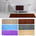 Memory Foam Washable Mat Bedroom Floor Pad Non-slip Bath Rug Mat Door Carpet