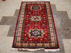 Awesome Shirvan Kuba Kazak Veg Dyed Hand Knotted Area Rug Wool Carpet (5 x 3)'