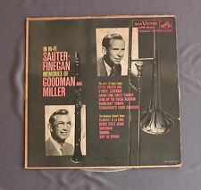 "Vinilo LP 12"" 33 rpm IN HI-FI SAUTER-FINEGAN MEMORIES OF GOODMAN AND MILLER"