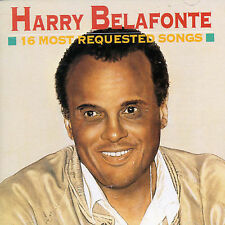 HARRY BELAFONTE~~~RARE~~~CD~~~16 MOST REQUESTED SONGS~~~NEW SEALED!!!