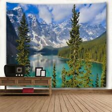 New Art Scenery Print Tapestry Room Bedspread Wall Hanging Tapestry Home Decor