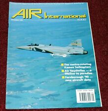 Air International Magazine 1990 November Convair B-36,Kamov,Air Seychelles