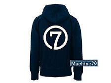 Machine7 Hoodie, 7 Logo, Navy / Cream, Men XXL Beetle Camper VW