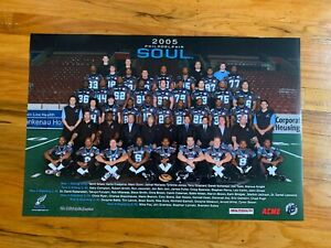 Philadelphia SOUL 2005 AFL Arena Football Season Team Picture Poster Bon JOVI