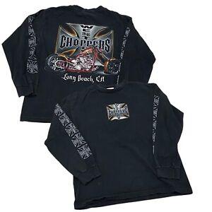 West Coast Choppers - Long Beach, CA Long-Sleeve T-Shirt (Medium)