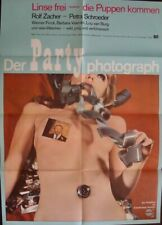 PARTY PHOTOGRAH German A1 movie poster A SEX COMEDY 1969 NM