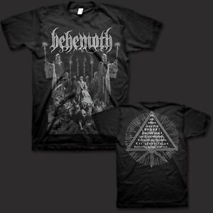 BEHEMOTH cd lgo CORPSE CANDLE Official SHIRT XL New the satanist