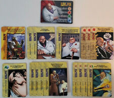 Marvel Overpower CCG Kingpin Full Set Hero + All Specials 17 Card Lot