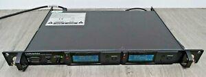 Audio Technica AEW-R5200 double receiver 840-865 MHz (107CC).