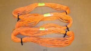 3 lengths 1.8 mm Dyneema Throw Line, Synthetic String, 12-Strand Braid, 223 feet